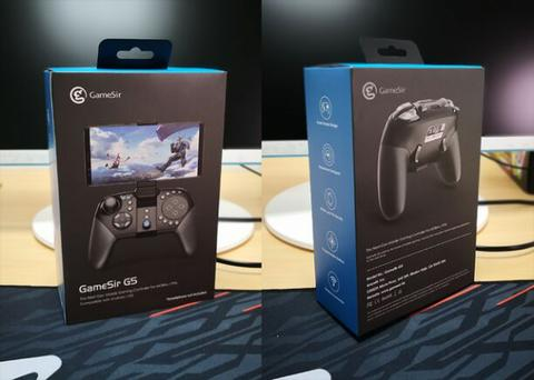 Gamesir G5 Gampad with touchpad package
