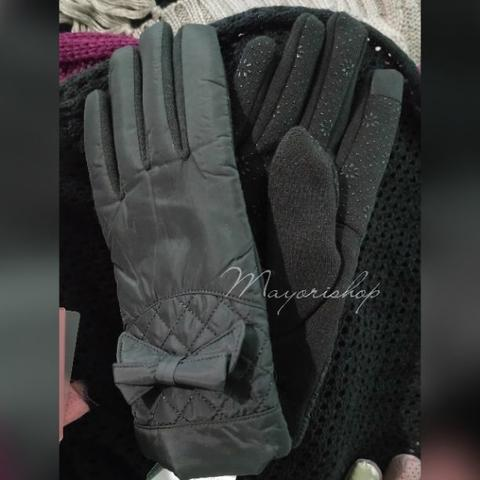NEW Sarung Tangan Hitam Waterproof Black Woman Texting Touch Gloves