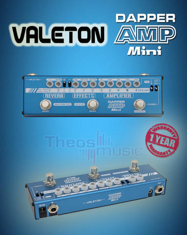 "Valeton DAPPER AMP MINI ""Mini Amp Effect Strip"""