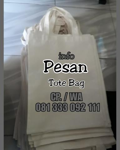 Goodie Bag, Tote Bag, Seminar Kit, Tas Blacu, Tas Promosi