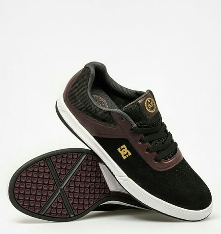 [DIJAMIN ORIGINAL] Sepatu DC Shoes Original Mike Mo Capaldi Black/Rich/Red