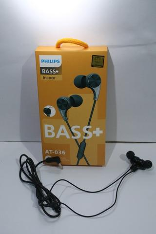 Headset Philips AT 036 Magnet Earphone handsfree super Bass