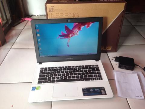 Laptop Gaming Core i5 Asus X450LCP Ram 4gb Hdd 500gb Mulus