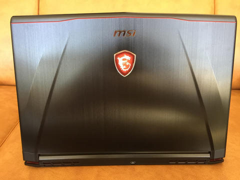 Laptop gaming MSI GS43VR 7RE Phantom Pro 14 inch not asus or alienware