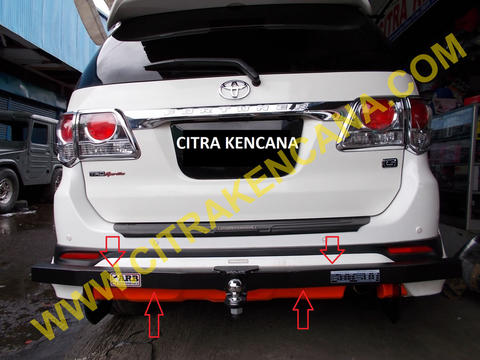 PROMO MEI TOWING BELAKANG FORTUNER