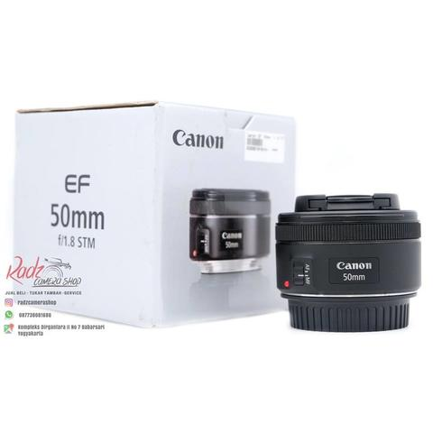 [Radz Camera Shop] Canon 50mm f1.8 STM Garansi DS Oktober 2018