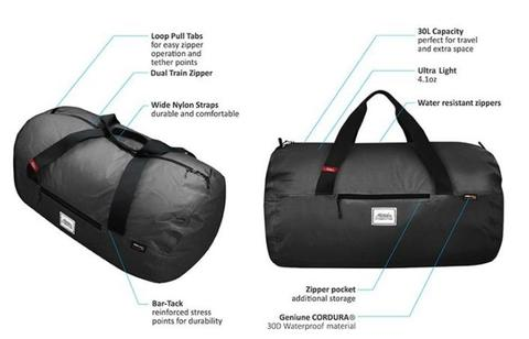 Tas Travel Matador Transit30 Packable Duffle Bag Original