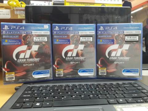 Dvd ps4 Grand Turismo sport + psn 7hari