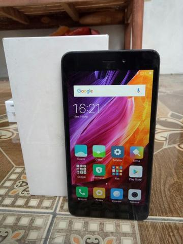 Redmi 4a dark grey mlus fulset
