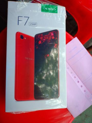 Oppo F7 Black Diamond Like New