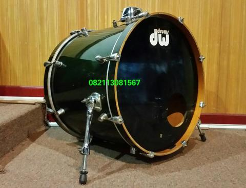 """Bass drum 22x18"""" 7 ply north American maple"""