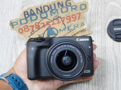 Jual CANON Eos M3 dgn 15-45 is STM - BANDUNG