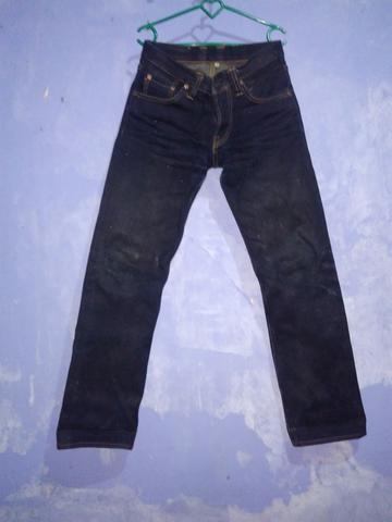 Mommo Company Navy Steel 'KingKong' Selvedge Denim