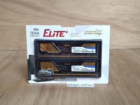 DDR4 Team Elite Plus Black 8GB