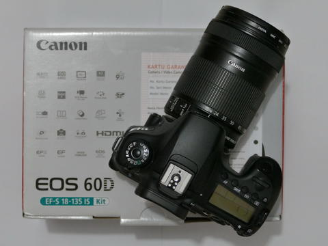 CANON 60D with 18-135mm IS LCD SELPHY FULLSET EX DS