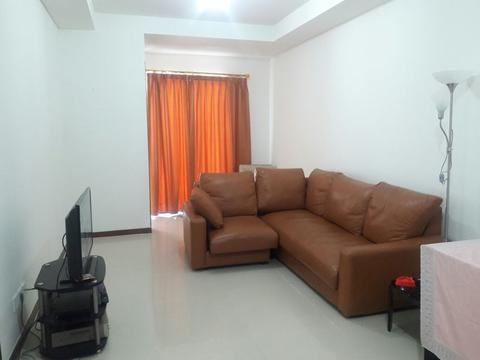 Condominium 2 Kamar 77m2 Semifurnish Tower J View Laut Regatta