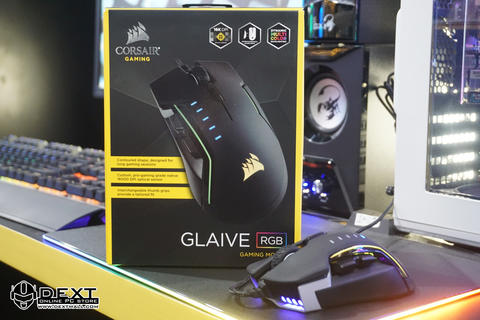 Corsair GLAIVE RGB Aluminum Gaming Mouse