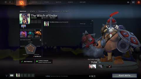 DOTA 2 ID MEDAL ANCIENT 1 SOLO 3K+ PARTY 4K+