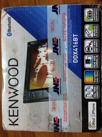 Head Unit & Subwoofer Aktif