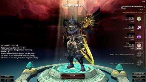 JASA LEVELING AKUN DRAGON NEST INA All Server Vestinel/Althea/Sentinel/Void
