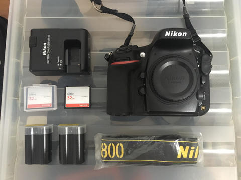 Jual Nikon D800 Body Only