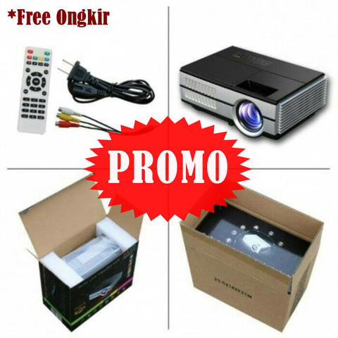 Promo Proyektor/EUG 600D LED Mini