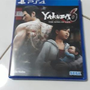 PS4 2ND Yakuza 6 standard edition