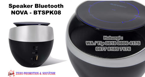 Souvenir Speaker Bluetooth Keren model NOVA - BTSPK08