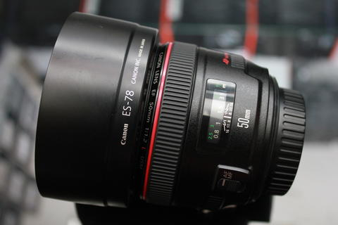 [STATION CAMERA] CANON LENS EF 50 F1.2L USM CODE UC LIKE NEW CONDITION FULLSET EX DS