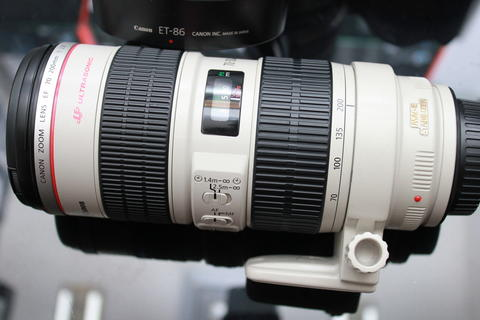 [STATION CAMERA] CANON LENS EF 70-200 F2.8L IS USM GOOD CONDITION NOBOX MURAH AJA