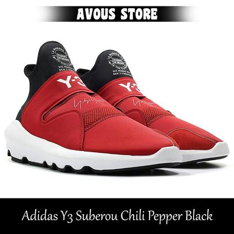 Adidas Y3 Suberou Chili Pepper Black