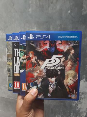 Persona 5 & The Last of Us & Stik / stick dualshock ps4