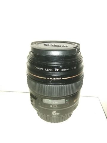 Lensa Canon 85mm f1.8, Mint like new, Ex DS, Fullset