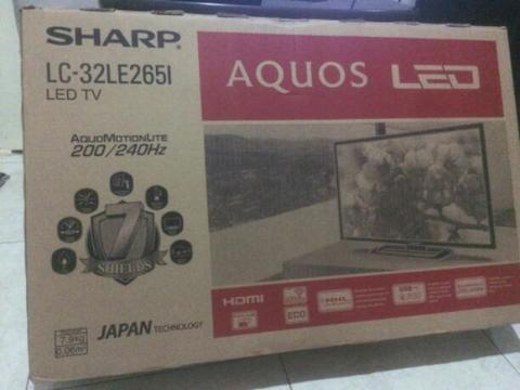 "LED TV SHARP AQUOS 32"" LC-32LE265I"