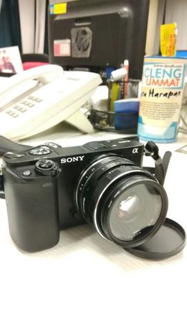 sony a6000 second