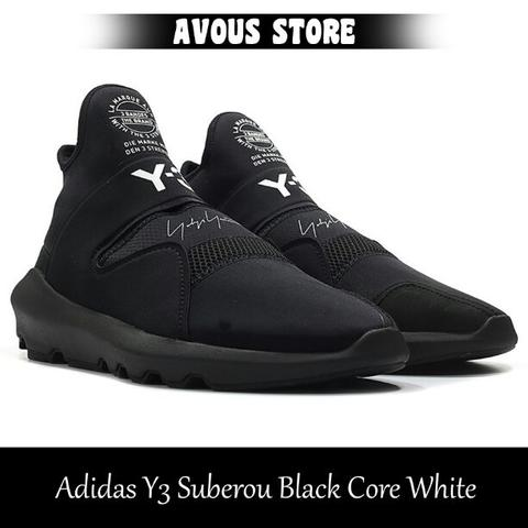 Adidas Y3 Suberou Black Core White