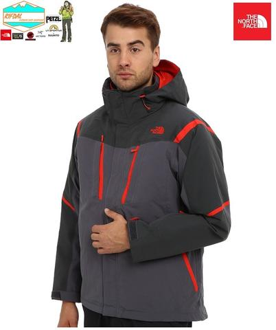 TNF THE NORTH FACE MENS VORTEX TRICLIMATE SIZE S MENS VANADIS GREY RED ORIGINAL