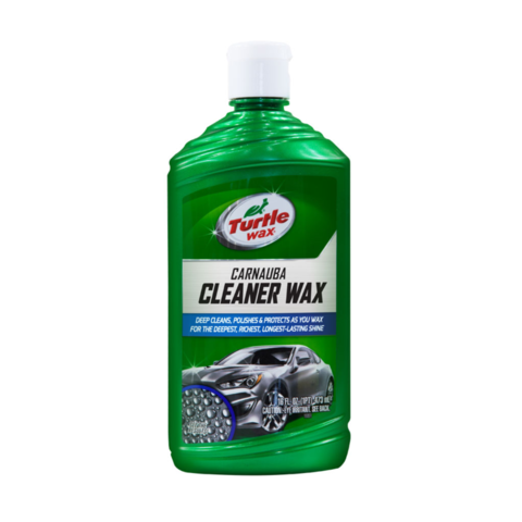 Turtle Wax Carnuba Cleaner Wax Liquid T-6A