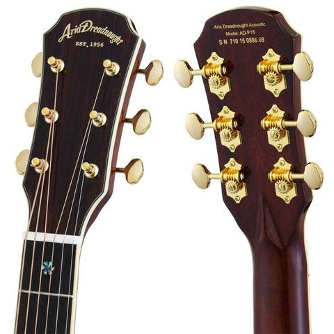 New ARIA All Solit and Dreadnought steel string AD-915