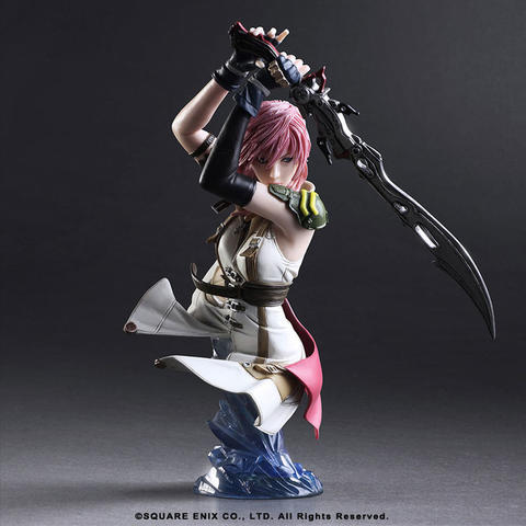 STATIC ARTS BUST Lightning Statue - FINAL FANTASY XIII