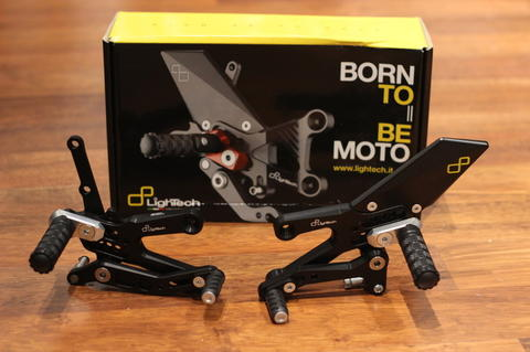 Lightech Racing Rearset / footstep for Yamaha R25 or MT-25