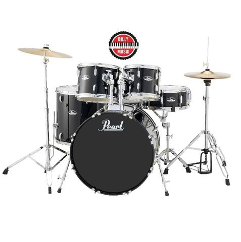 ***BILLY MUSIK*** Drum Set Pearl Roadshow 5-Piece with Cymbal - Chair