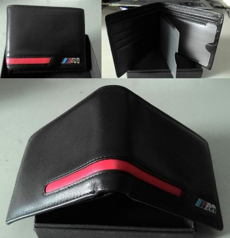 Dompet BMW Red Striping M3 Leather