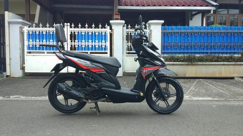 Honda All New Beat ESP 2016 Warna Hitam (Modif Fungsional)
