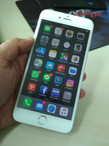 Iphone 6 Plus 64gb Eks Garansi Ibox Mulus 98%