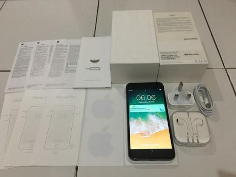 IPHONE 6 PLUS GREY 128GB FULLSET FULL ORI NORMAL MURAAHH 4700 SAJA [MALANG]