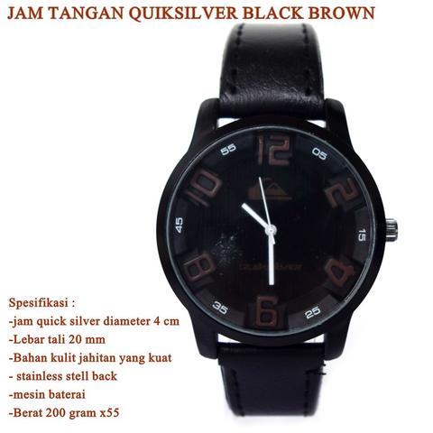 jam tangan Quicksilver black BROWN