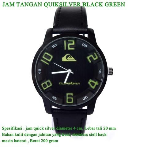 jam tangan Quicksilver black GREEN