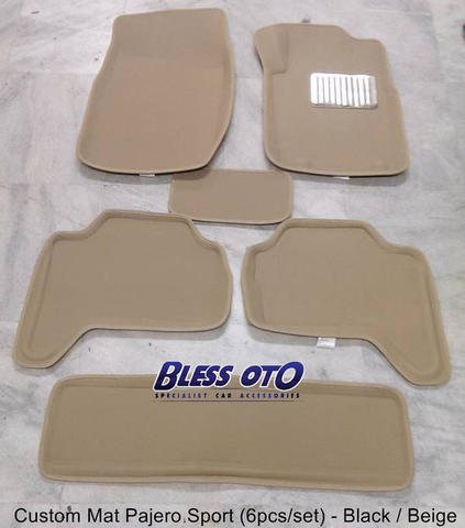 Karpet 3D for Pajero 2008-2014 ( 3 Baris )