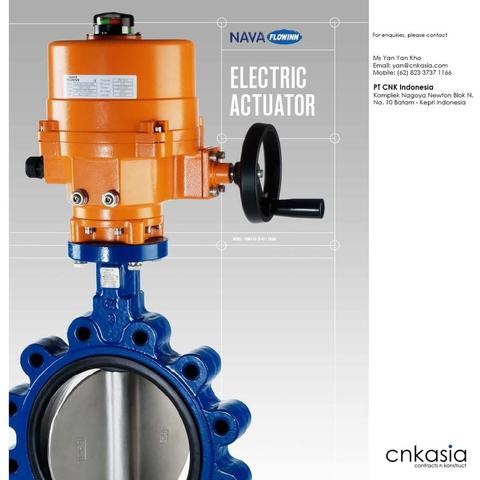 Nava Electric Actuator
